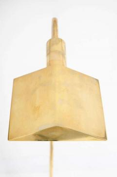 Pair of Polished Brass Reading Lamps by Cedric Hartman - 774902
