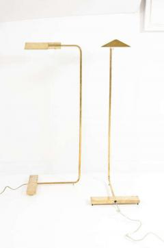 Pair of Polished Brass Reading Lamps by Cedric Hartman - 774903