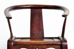 Pair of Qing Dynasty Horseshoe Back Chairs - 1140439