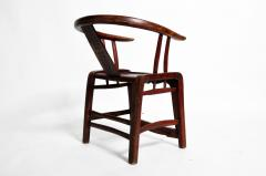 Pair of Qing Dynasty Horseshoe Back Chairs - 1140444