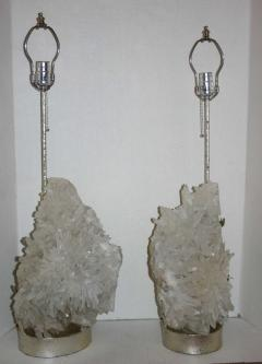 Pair of Quartz Crystal Lamps - 658880