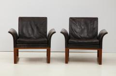 Pair of Rare 1950s Swedish Club Chairs - 1871706