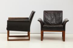 Pair of Rare 1950s Swedish Club Chairs - 1871707