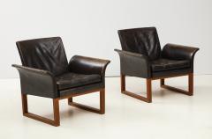 Pair of Rare 1950s Swedish Club Chairs - 1871709