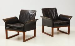 Pair of Rare 1950s Swedish Club Chairs - 1871710