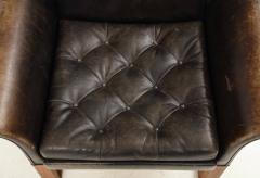 Pair of Rare 1950s Swedish Club Chairs - 1871714