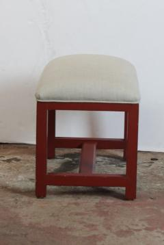 Pair of Red Bench - 822490