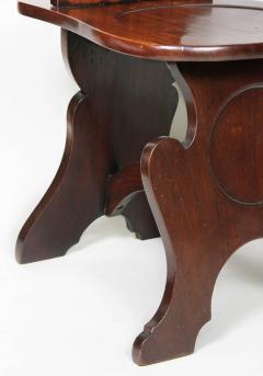Pair of Regency Mahogany Armorial Hall Chairs - 1558073