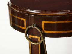 Pair of Regency Style Mahogany Pedestals by Grosfeld House - 1312441