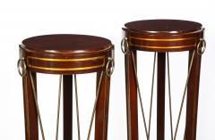 Pair of Regency Style Mahogany Pedestals by Grosfeld House - 1312445