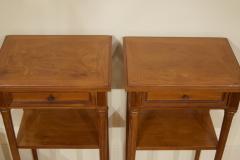 Pair of Regency Style Nightstands or End Tables - 1826315