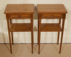 Pair of Regency Style Nightstands or End Tables - 1826318