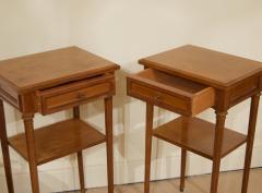 Pair of Regency Style Nightstands or End Tables - 1826321
