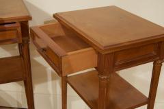 Pair of Regency Style Nightstands or End Tables - 1826322