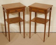 Pair of Regency Style Nightstands or End Tables - 1826323