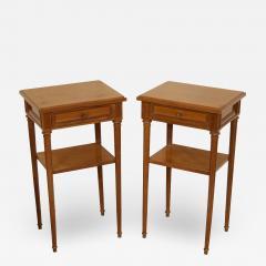Pair of Regency Style Nightstands or End Tables - 1827157
