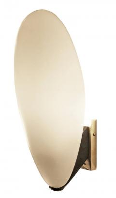Pair of Rounded Italian Mid Century Sconces - 1623253