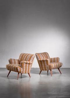 Pair of Scandinavian Modern armchairs - 1702788