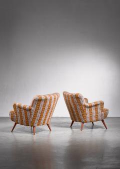 Pair of Scandinavian Modern armchairs - 1702789