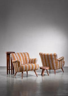 Pair of Scandinavian Modern armchairs - 1702790