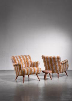 Pair of Scandinavian Modern armchairs - 1702791