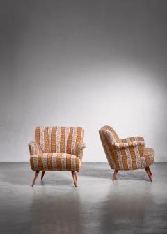 Pair of Scandinavian Modern armchairs - 1702792
