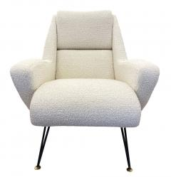 Pair of Sculptural Mid Century Armchairs - 2113594