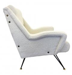 Pair of Sculptural Mid Century Armchairs - 2113596