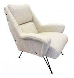 Pair of Sculptural Mid Century Armchairs - 2113598