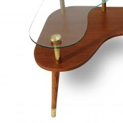 Pair of Sculptural Mid Century Modern side Tables  - 2062736