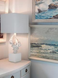 Pair of Shell Lamps - 1548133