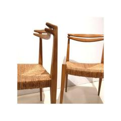 Pair of Side Chairs by Guillerme et Chambron - 1397578