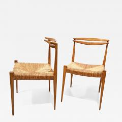 Pair of Side Chairs by Guillerme et Chambron - 1400186