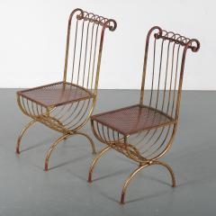 Pair of Side Chairs by S Salvadori Italy 1950 - 1531913