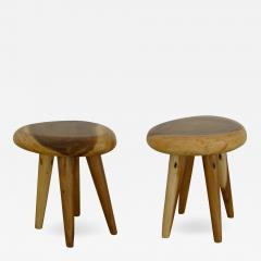 Pair of Side Tables in Acacia - 532625