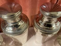 Pair of Silver Cocktail Shakers and Cocktail Cups - 1807029
