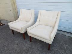 Pair of Slipper Lounge Chairs Mid Century Modern - 1697116
