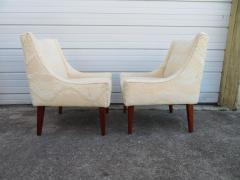 Pair of Slipper Lounge Chairs Mid Century Modern - 1697121