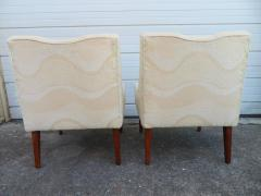 Pair of Slipper Lounge Chairs Mid Century Modern - 1697125