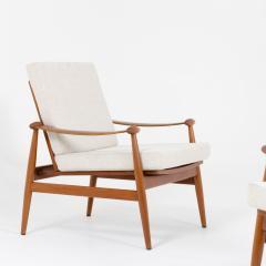 Pair of Spade Armchairs by Finn Juhl - 1944666