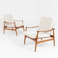 Pair of Spade Armchairs by Finn Juhl - 1944672