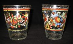 Pair of Spanish Glass Tumblers - 1040779