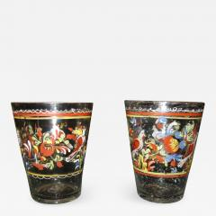 Pair of Spanish Glass Tumblers - 1042157