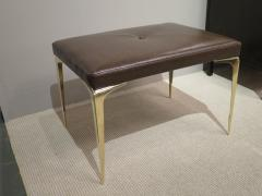 Pair of Spear Tip Brass Benches - 346875