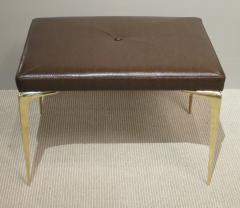 Pair of Spear Tip Brass Benches - 346876