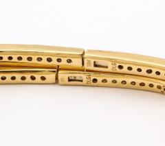 Pair of Square shape Diamond Bangle Bracelets - 1534925