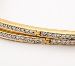 Pair of Square shape Diamond Bangle Bracelets - 1534926