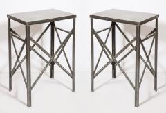 Pair of Steel Tables - 2011482