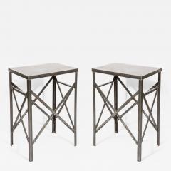 Pair of Steel Tables - 2012984