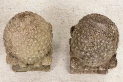 Pair of Stone Finials - 1953885